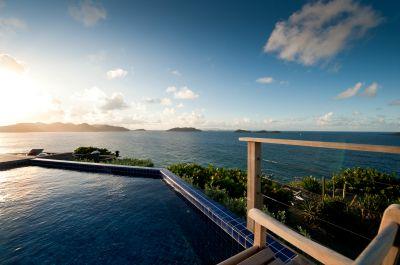 Villa Domingue caribbean sea view